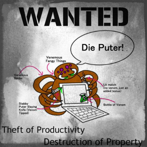 breaking stigmas,michelle-perkins.com,scribbler experiment,productivity,villian spider
