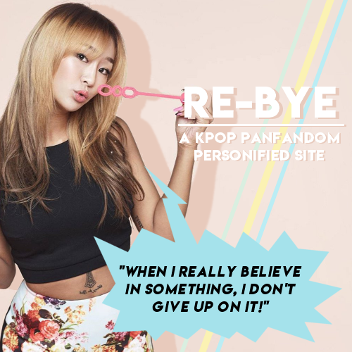 Re-Bye: A Kpop Personified Site